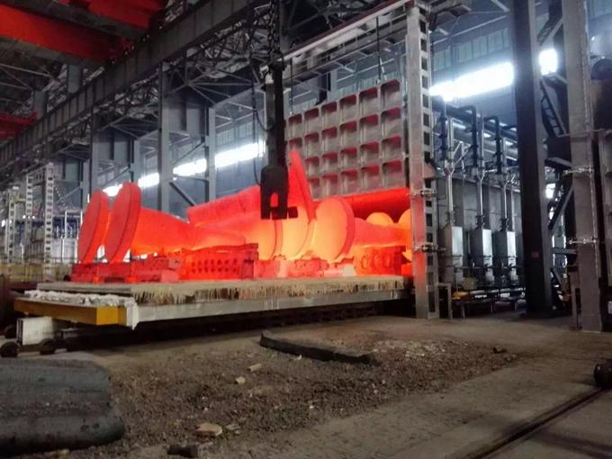 蓄热式加热炉对耐火自流浇注料的使用