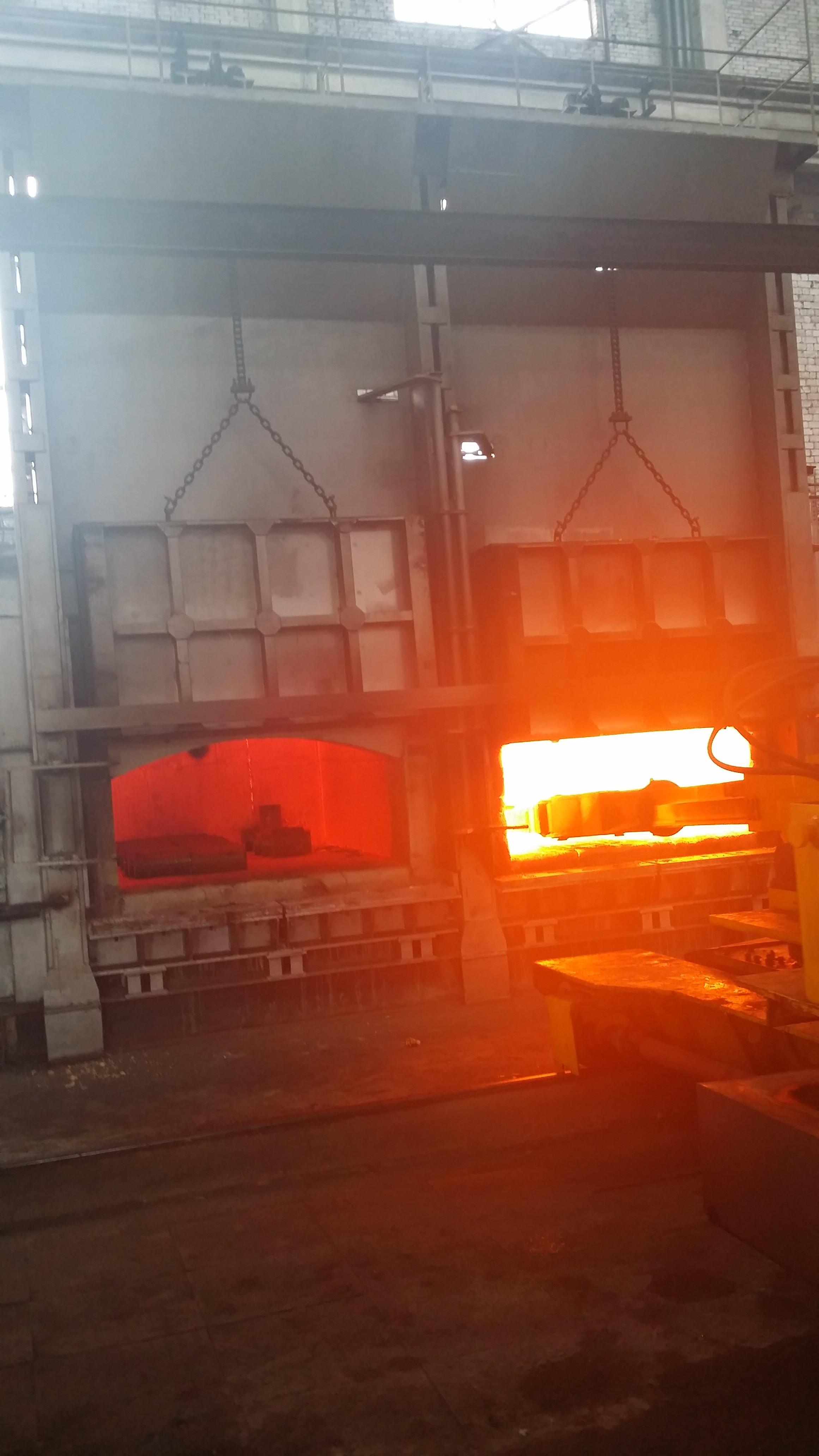 锻造加热炉的修理知识