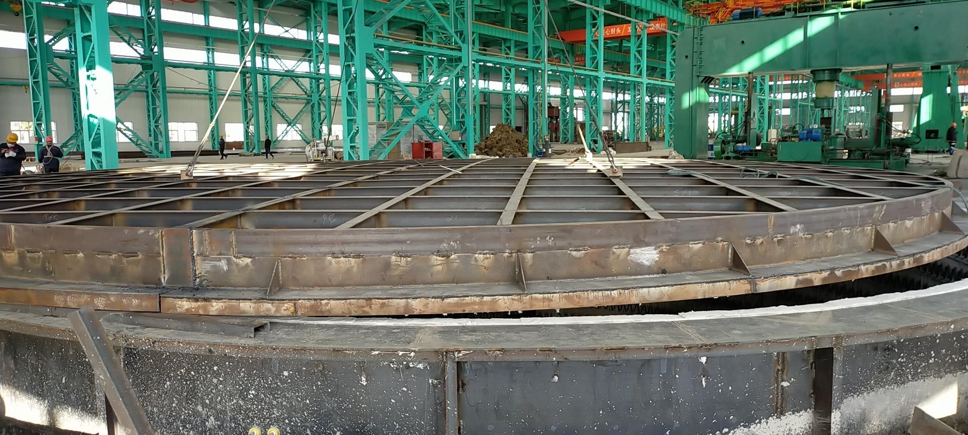 沃福德顺利完成南方地区的大型井式炉施工作业
