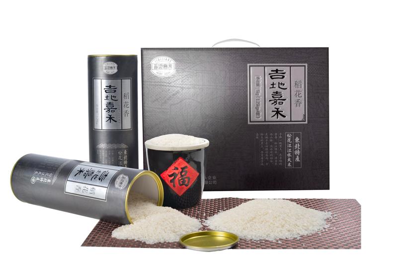 有机稻花香大米