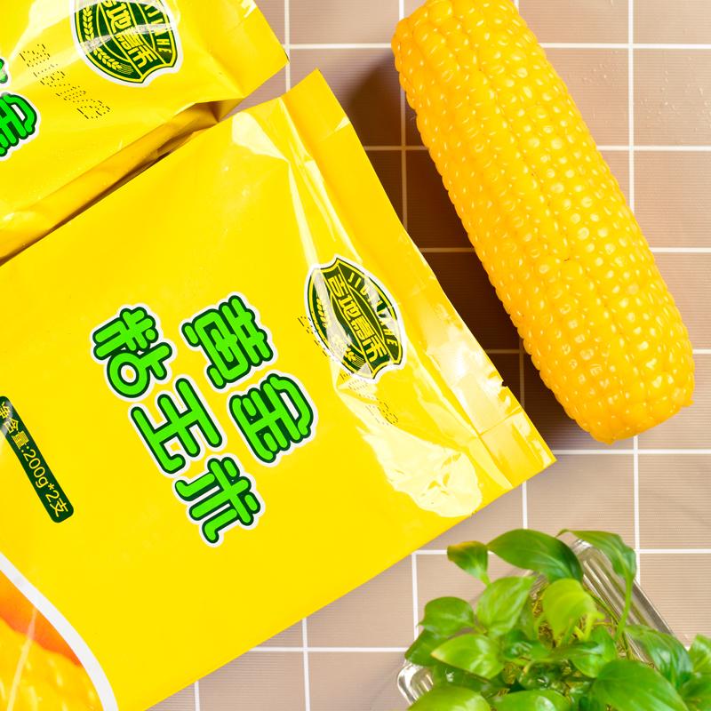 吉地亚游积分王黄金粘玉米200g双支