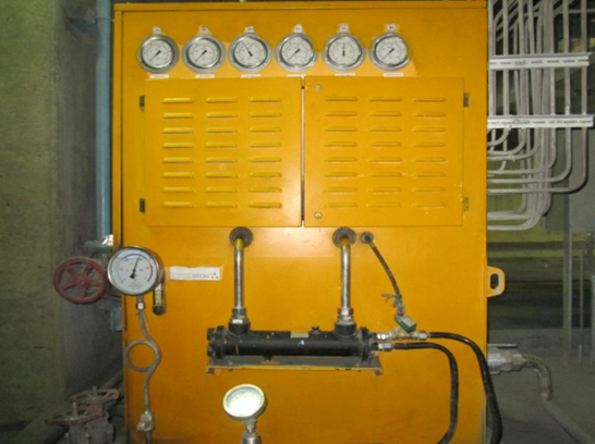 火電磨煤機變加載液壓系統