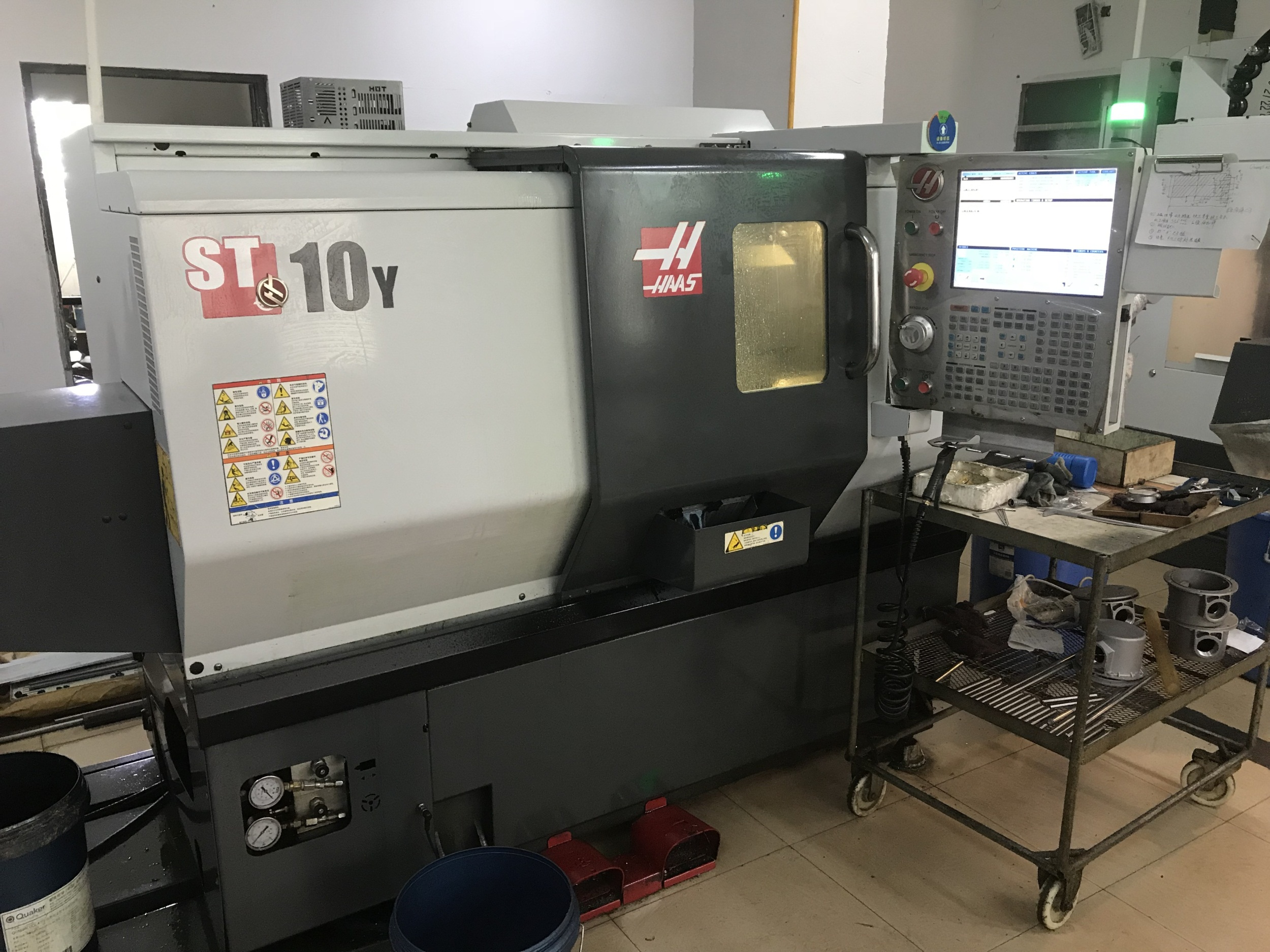 turning and milling composite machine tool