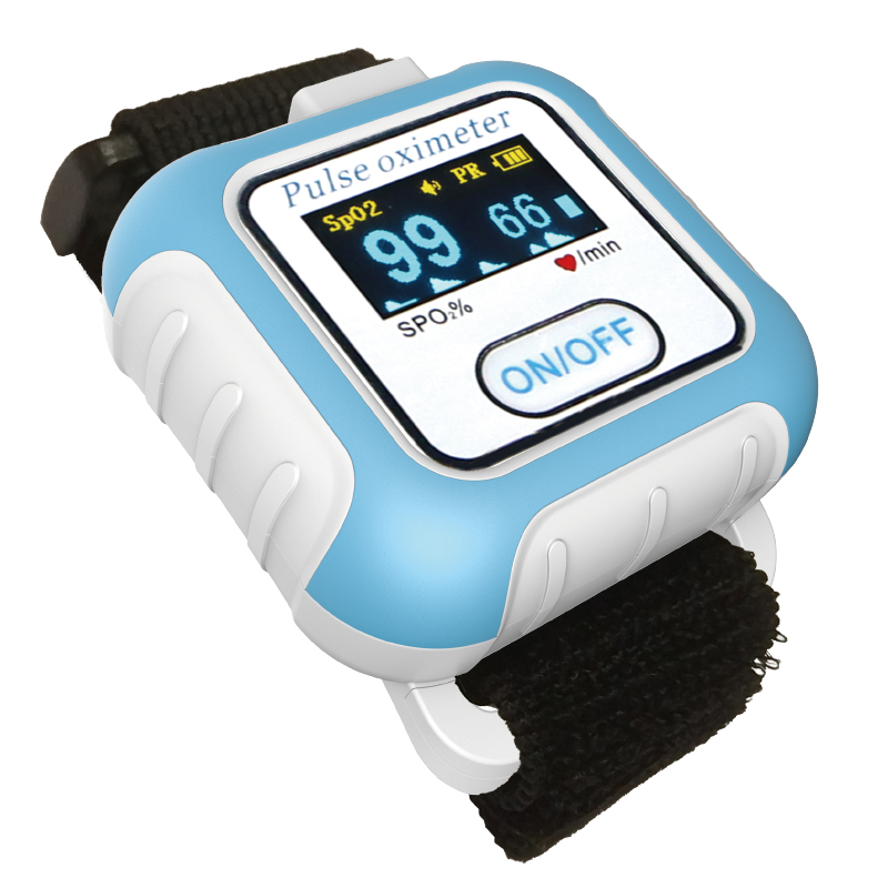 BM2000A 腕式脉搏血氧仪(蓝牙版)