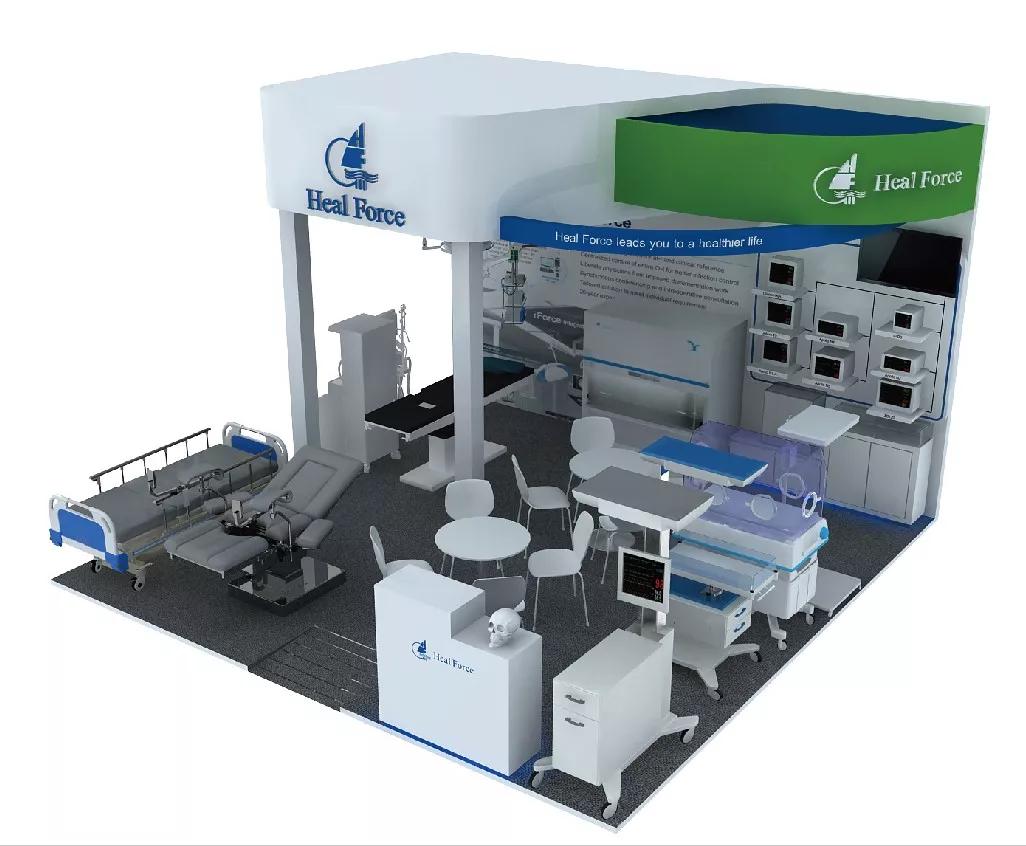 阿拉伯国际医疗设备展览会3_力新仪器