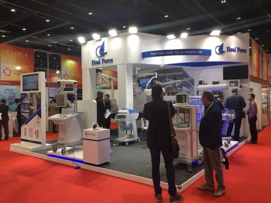 阿拉伯国际医疗设备展览会4_力新仪器