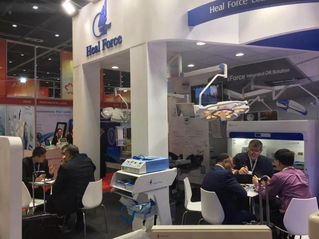 阿拉伯国际医疗设备展览会7_力新仪器