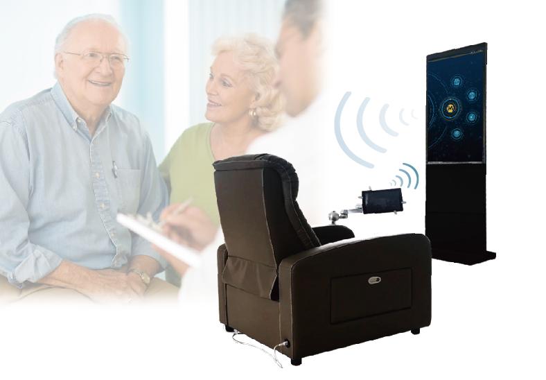 物联网健康检测按摩沙发_力新仪器