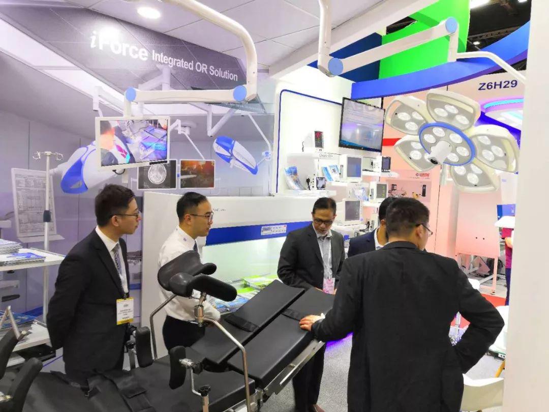 阿拉伯国际医疗设备博览会7_力新仪器
