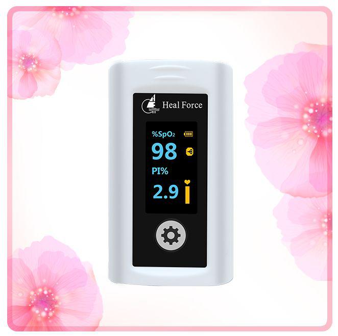 指夹式脉搏血氧饱和度仪_力新仪器