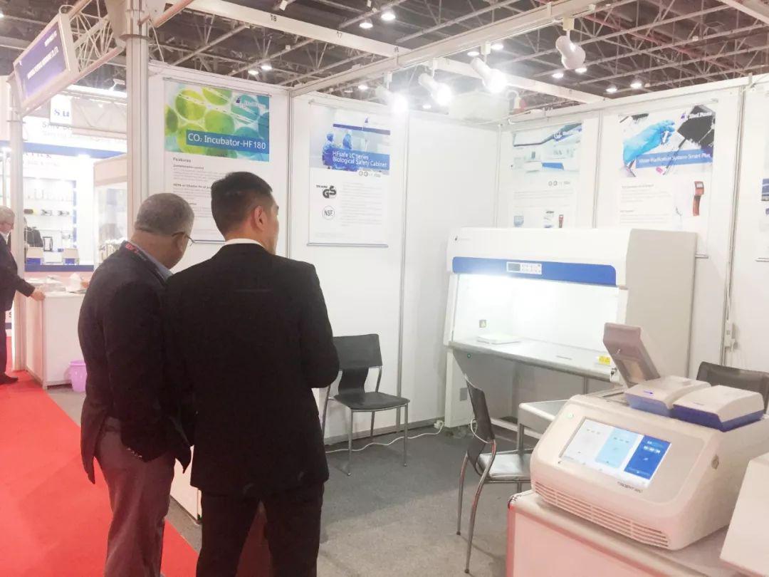 阿联酋迪拜实验仪器设备展览会4_力新仪器