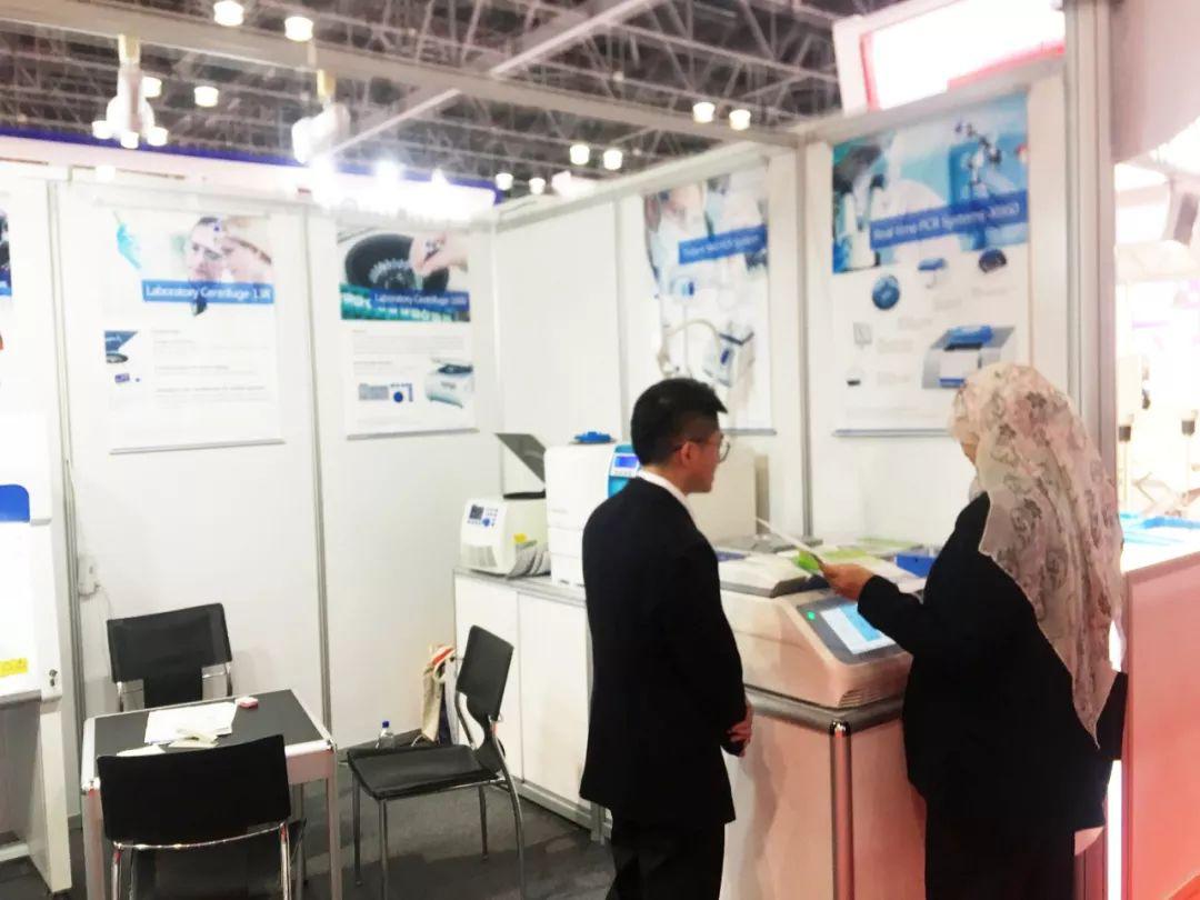 阿联酋迪拜实验仪器设备展览会6_力新仪器