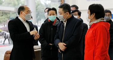 市委常委、市委统战部部长郑钢淼一行莅临力康集团视察指导