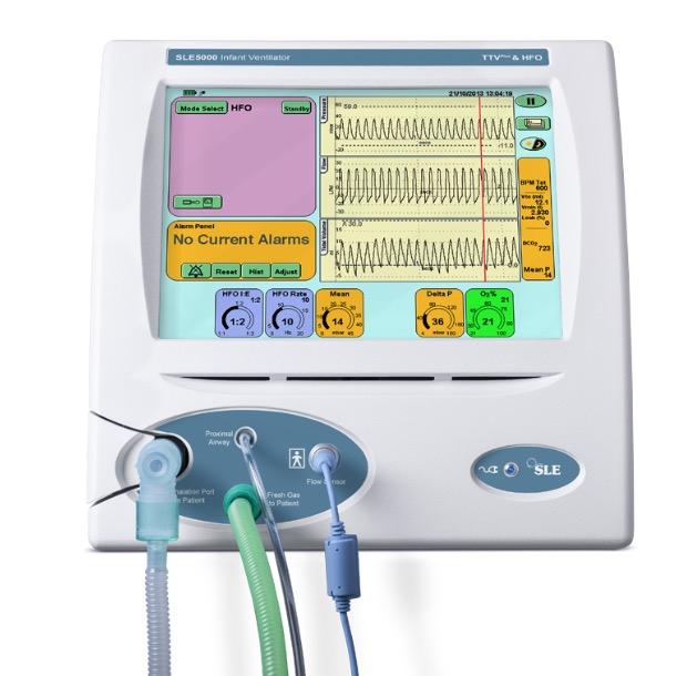 SLE5000 婴儿呼吸机