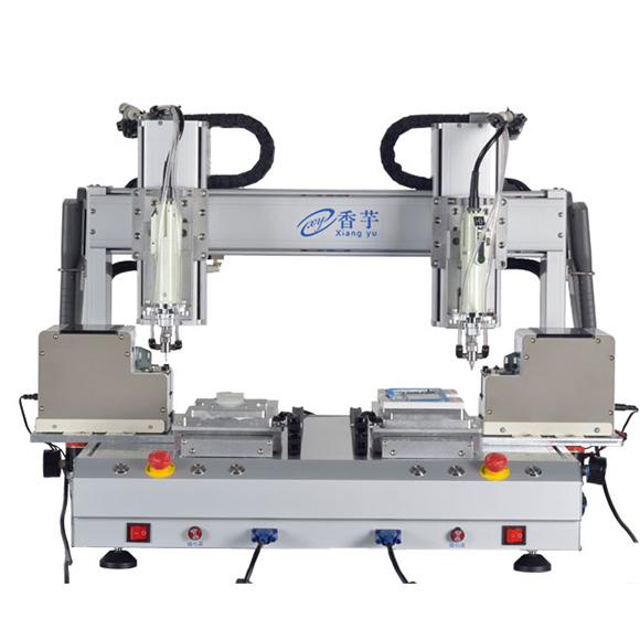 双平台六轴高速自动锁螺丝机