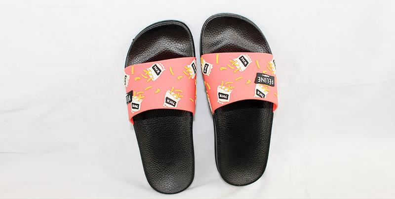 PVC一字拖鞋此款鞋平时休闲穿着