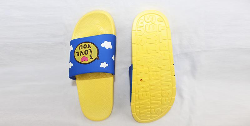PVC一字拖鞋可印精美LOGO