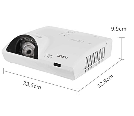 日电(NEC) NEC NP-CK4155x短焦投影仪(3LCD芯片3300流明)