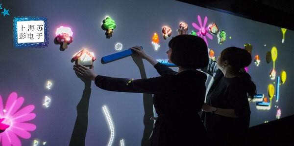 互动墙面投影,奇幻动感的交互体验-苏彭电子