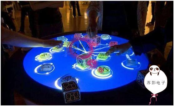 苏彭电子与您分享餐桌互动投影游戏的优点