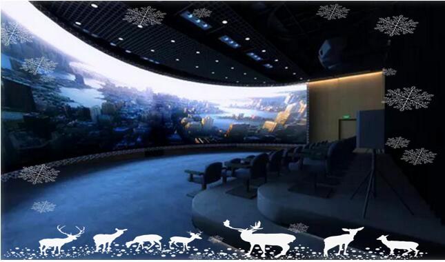苏彭电子告诉您多媒体展厅设计中安装互动投影的要求