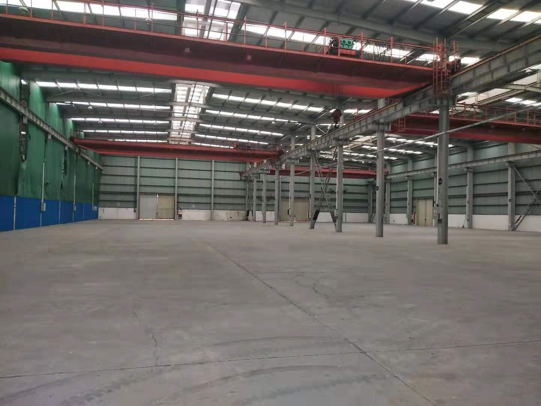 泗泾104板块厂房仓库出租,带4部10吨行车