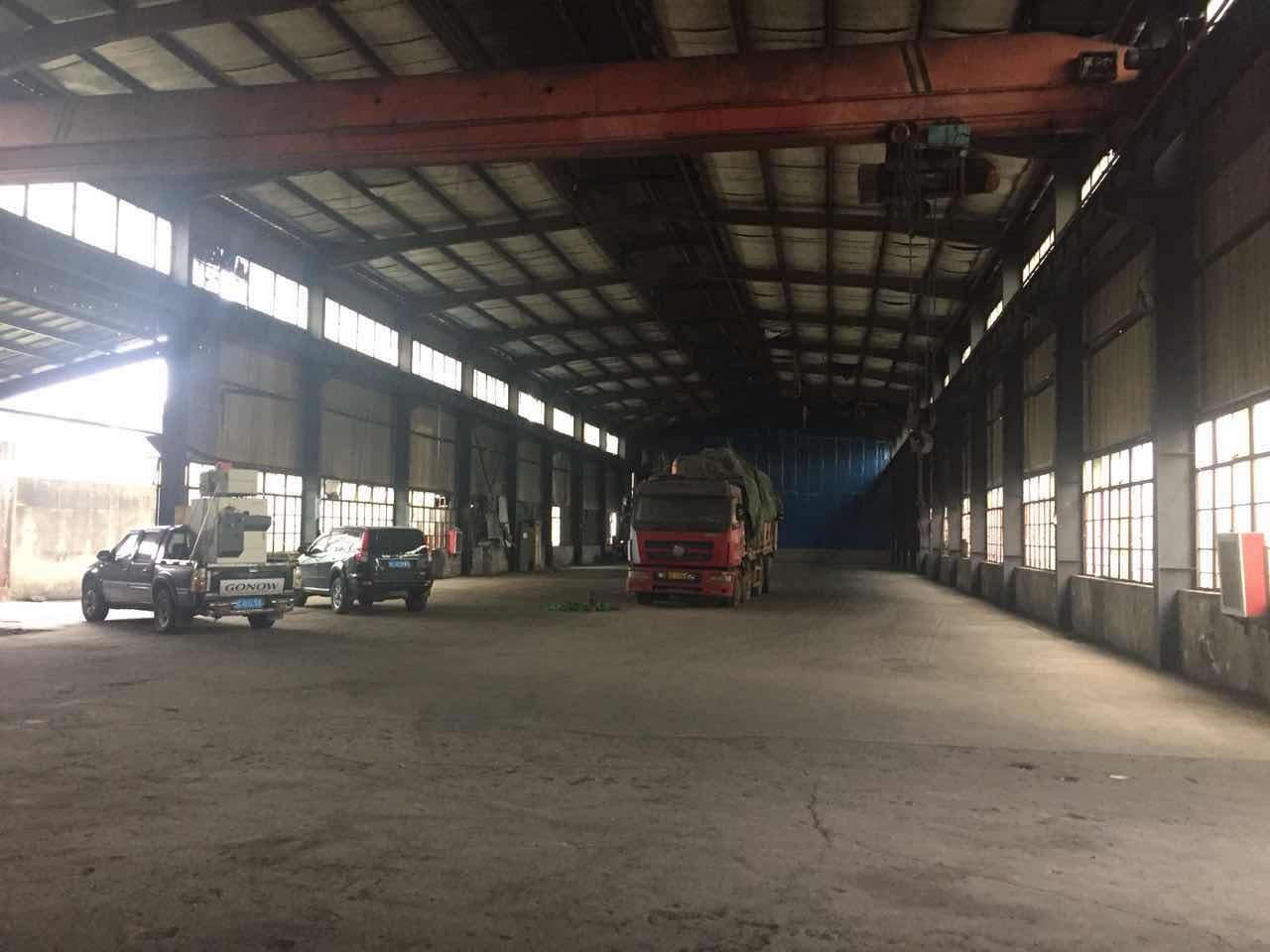 吕巷独栋带行车厂房仓库出租,层高8米