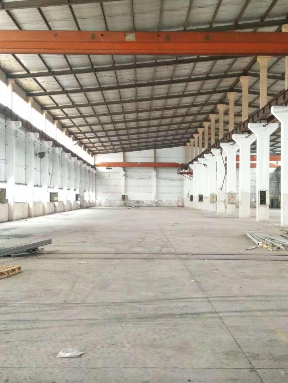 山阳104板块带行车厂房仓库出租,层高12米