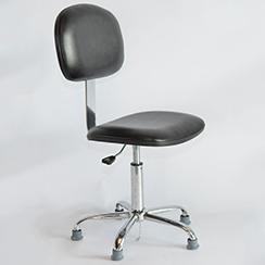 皮革靠背防静电椅