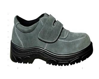 反毛牛皮防护鞋