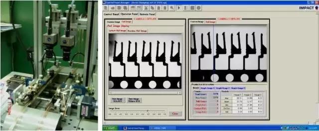 CCD视觉自动检测系统图