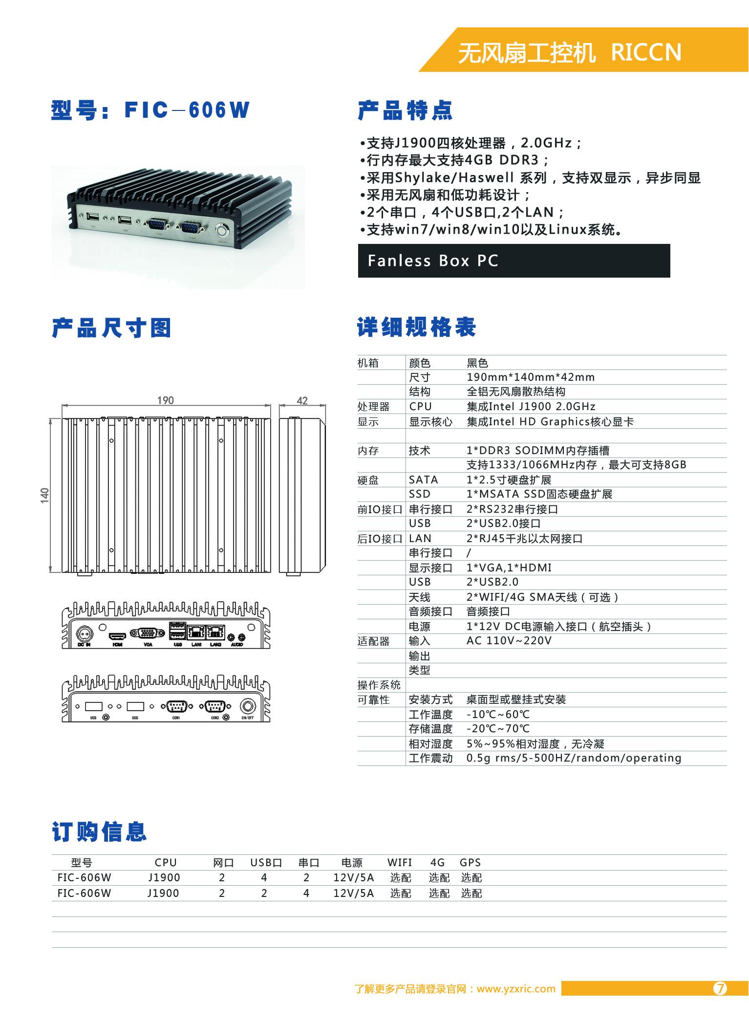 FIC-606W