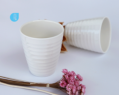 3 inch melamine round mouth soya bean milk cup--8200