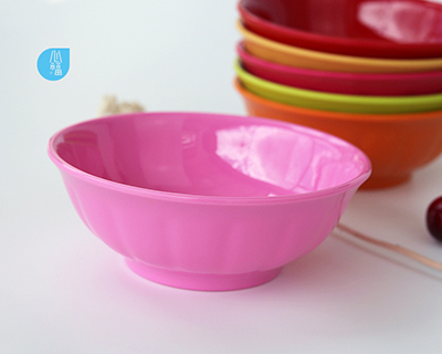 6 inch melamine flap melon  Excessive Counter bowl--6390