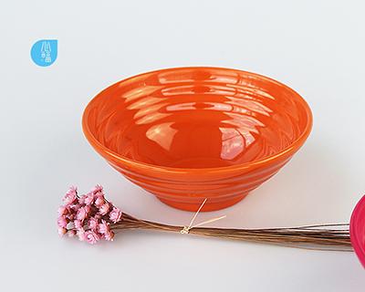 7 inch melamine internal and external thread bowl--6393