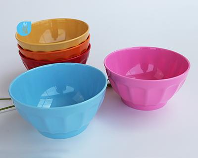 5.5 inch melamine petal bowl --6407/6408