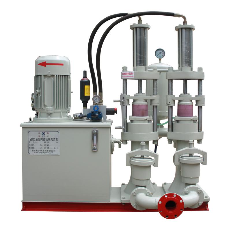 YB-140不锈钢陶瓷柱塞泥浆泵