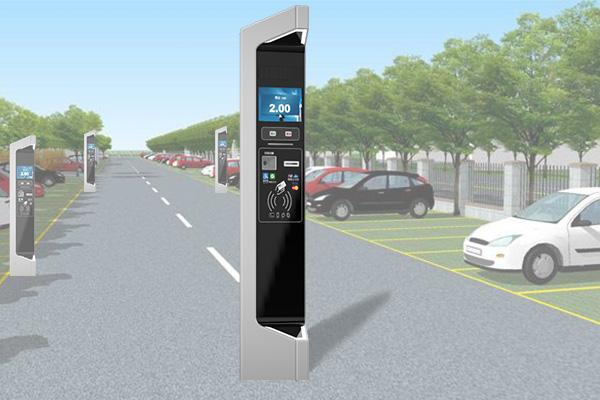 道路停车全支付系统_停车收费系统_咪表全支付一体机—国朗科技