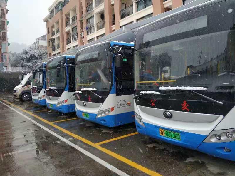 开化公交二期继续安装国朗公交车载机