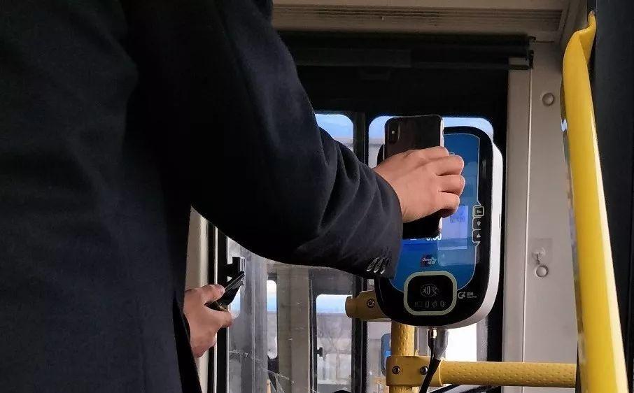 便民!山西清徐公交安装车载机实现移动扫码支付