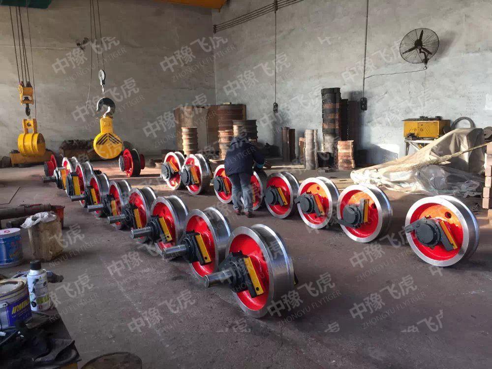 重型車輪組