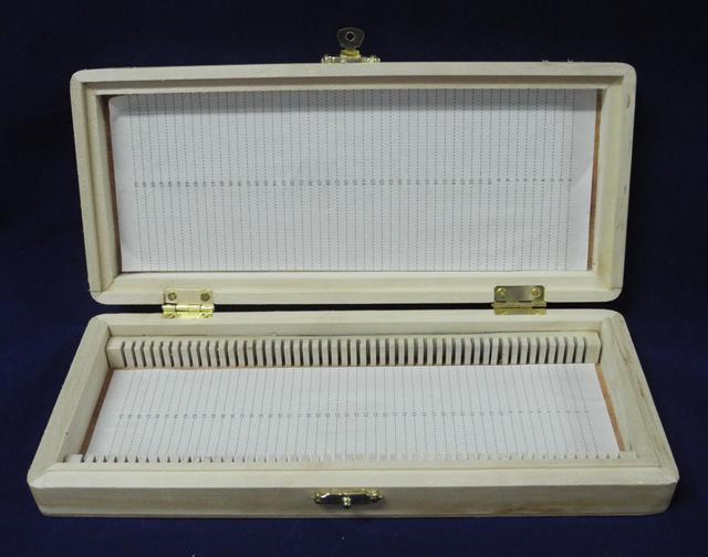 50片装木质切片盒A款