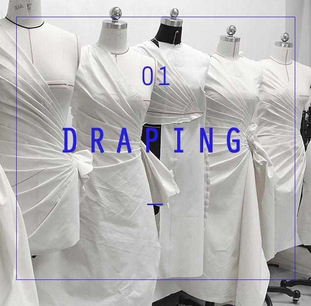 服装立体裁剪与创意女装课程