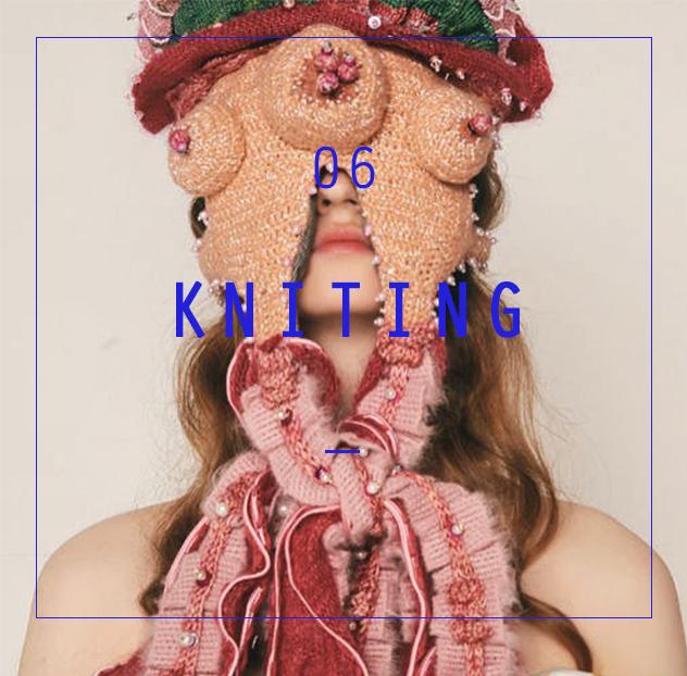 针织服装创新设计课程