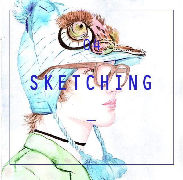 服装手绘效果图技法课程