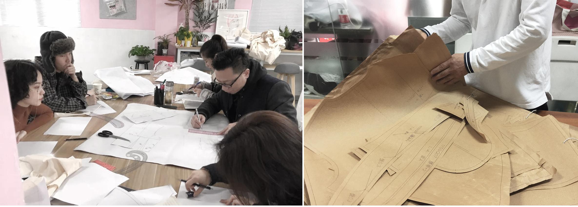 服装平面制版与女装工艺课程,平面制版,工艺,课堂氛围