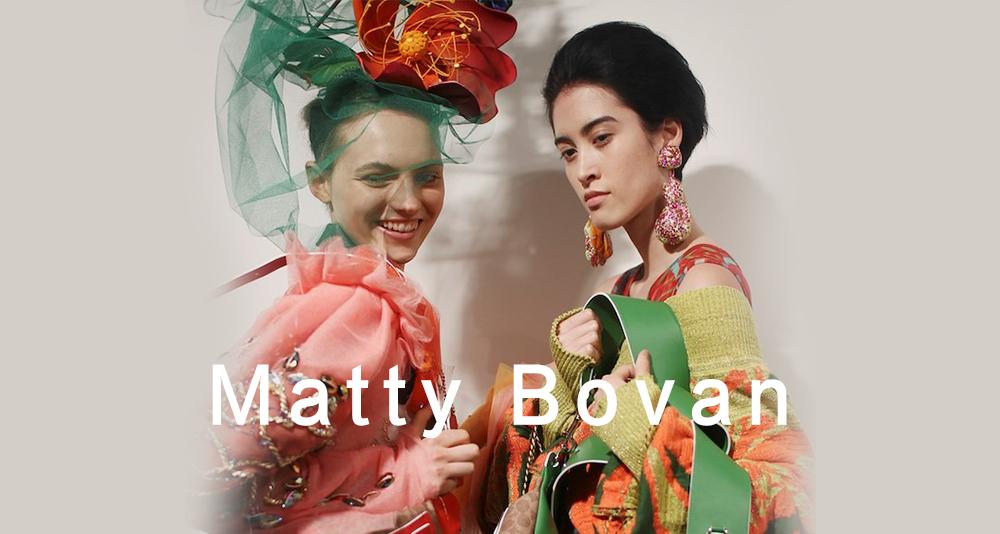 毕业于中央圣马丁,模糊艺术与时尚界限的新锐设计师Matty Bovan