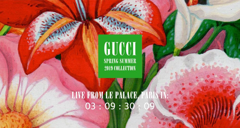 Gucci移师巴黎时装周,致敬巴黎三部曲之最后篇章!