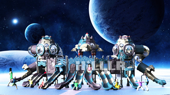 星际小博士滑梯系列