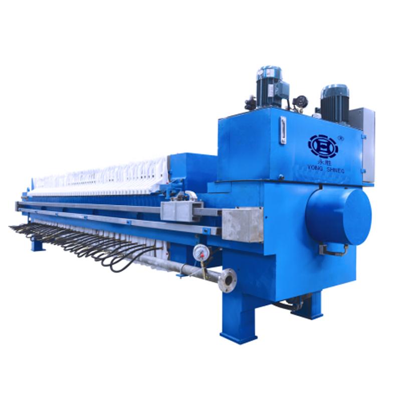 High pressure diaphragm filter press